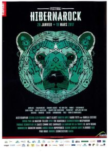 affiche hibernarock 2017