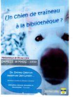 affiche chien de traineau