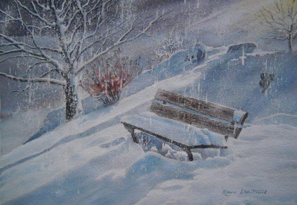 Paysage d 39 hiver commune de vic sur c re - Vic sur cere office de tourisme ...
